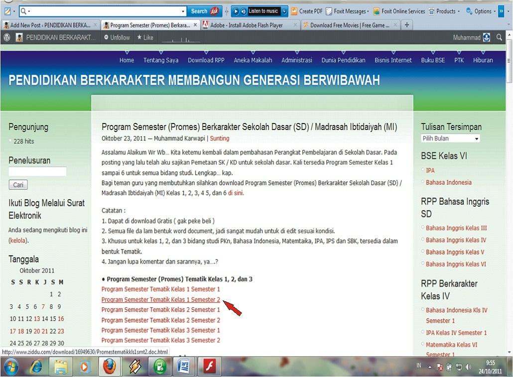 """Cara Download File di 'Pendidikan Berkarakter Membangun GenerasiBerwibawah"""" atau di www.karwapi.wordpress.com"""